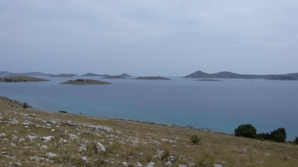 Blick auf die Kornati Inseln