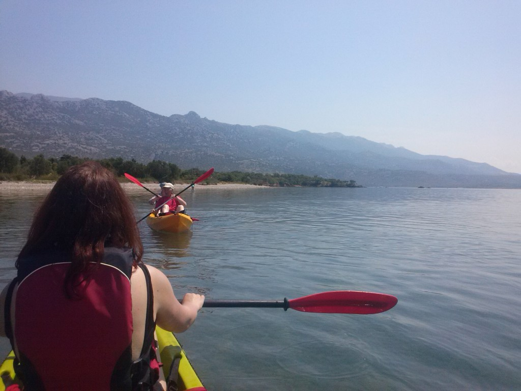 Kajak-Tour bei Starigrad-Paklenica