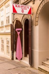 Krawattenladen in Zagreb
