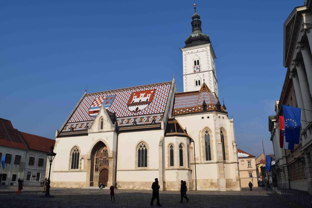 Markuskirche in Zagreb
