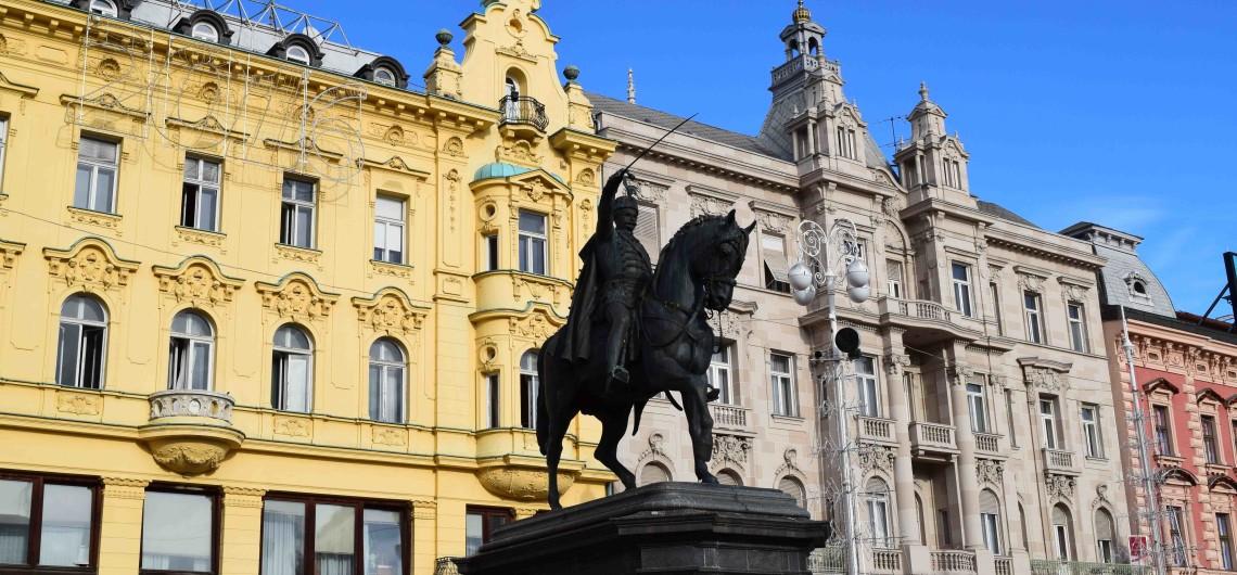 Ban-Jelacic-Platz in Zagreb