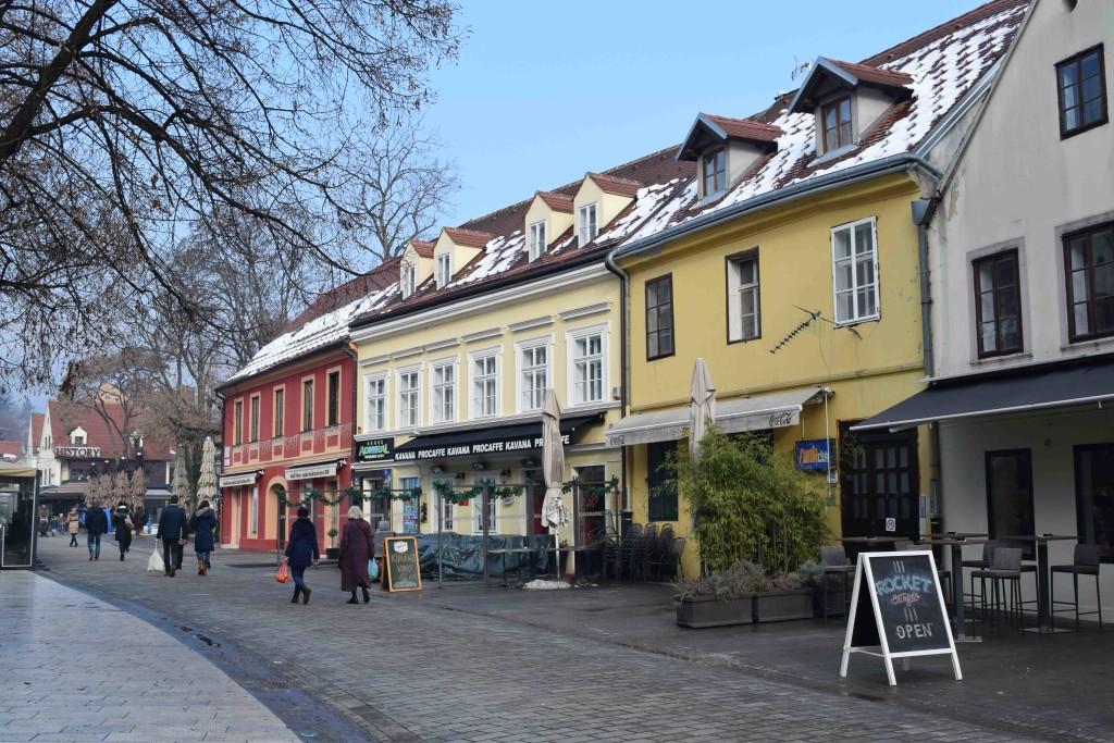 Tkalciceva Ulica in Zagreb