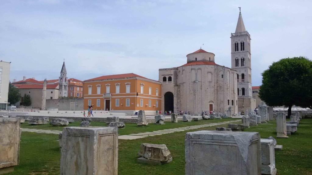 Donatuskirche und römisches Forum in Zadar