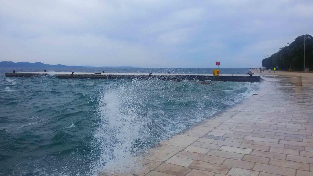 Seepromenade von Zadar