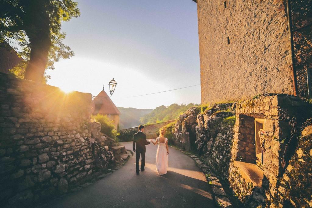 Hochzeitspaar in Kroatien