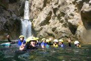 Canyoning am Fluss Cetina