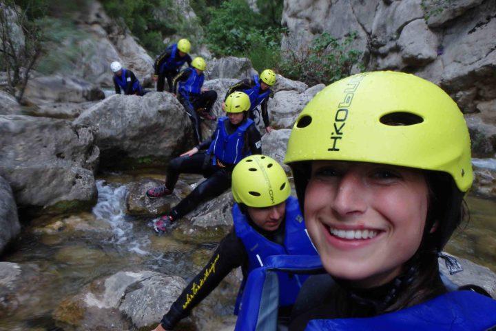 Canyoning am Fluss Cetina, Ausflüge Kroatien