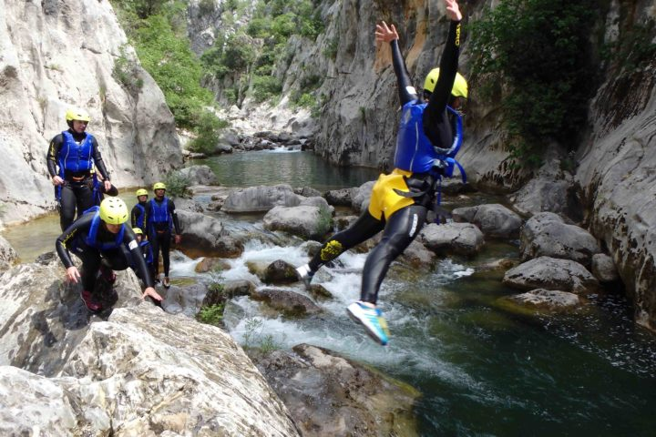 Ausflüge Kroatien, Extreme Canyoning
