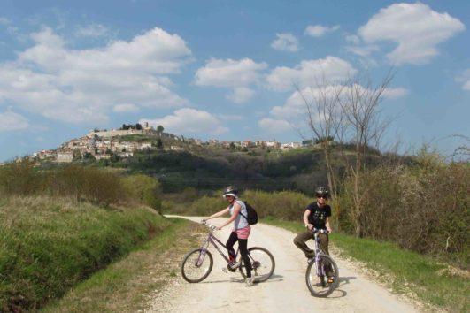 Individuelle Mountainbike-Tour durch Istrien