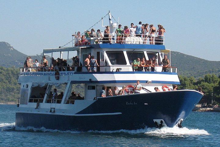 Ausflug Kroatien, Bootsausflug in den Naturpark Telascica