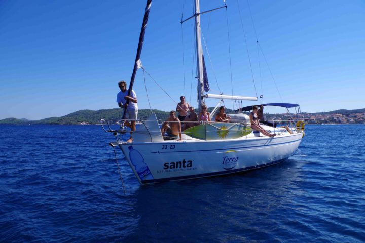 Segelboot Ausflug Zadar Telascica