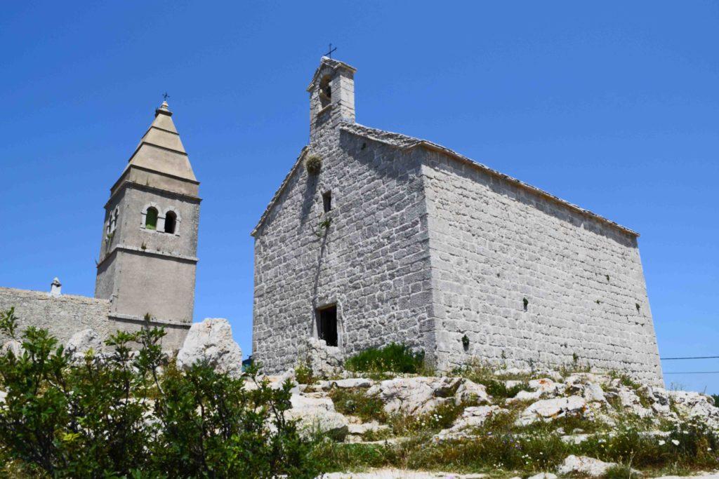 Kirchen in Lubenice auf Cres