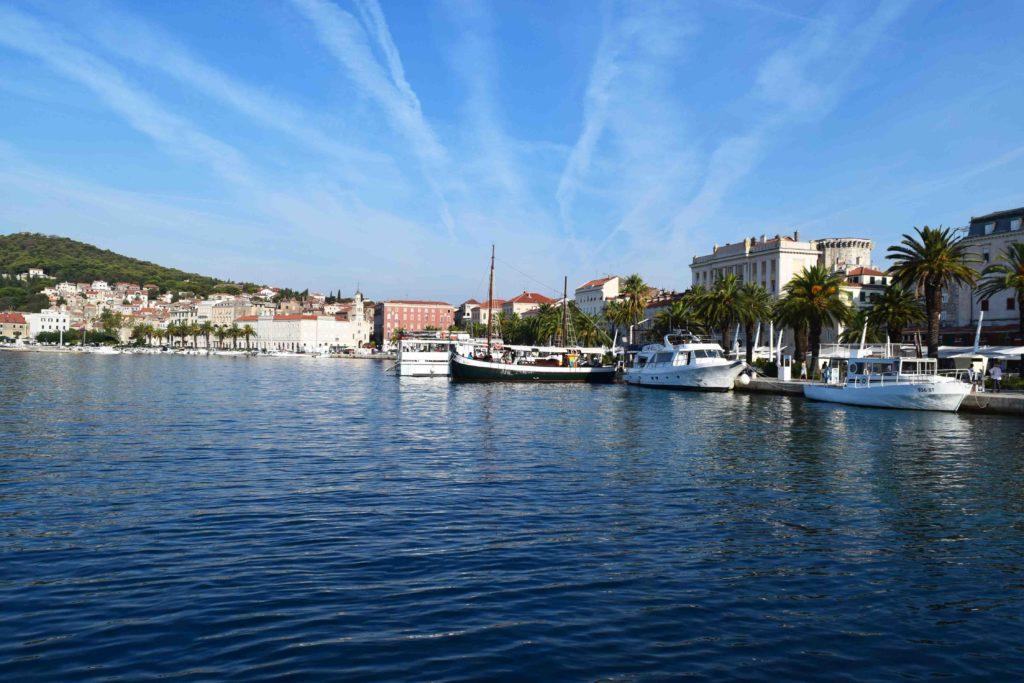 Hafen von Split Kroatien