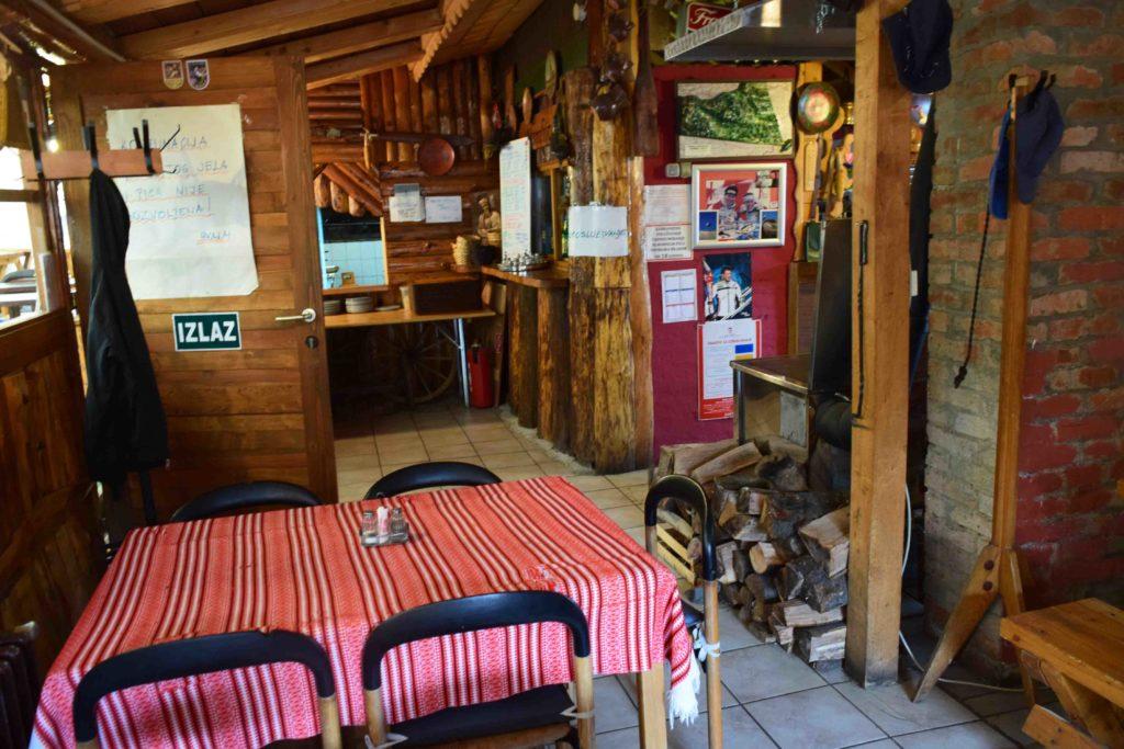 Restoran Grofica bei Sljeme