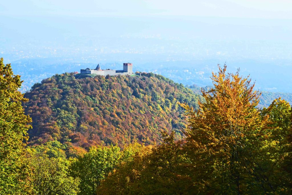 Burg Medvedgrad bei Zagreb