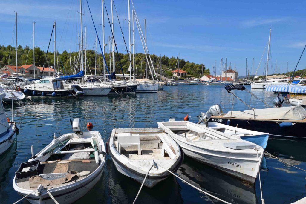 Marina in Milna auf Brac