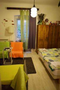 Wohn- und Schlafzimmer Apartman Kneginja Zagreb