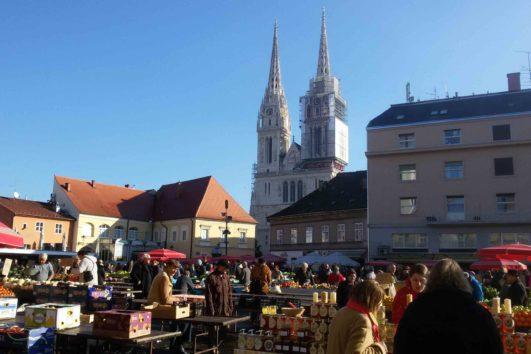 Markt Dolac in Zagreb