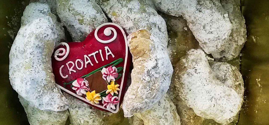 Kroatische Vanillekipferl