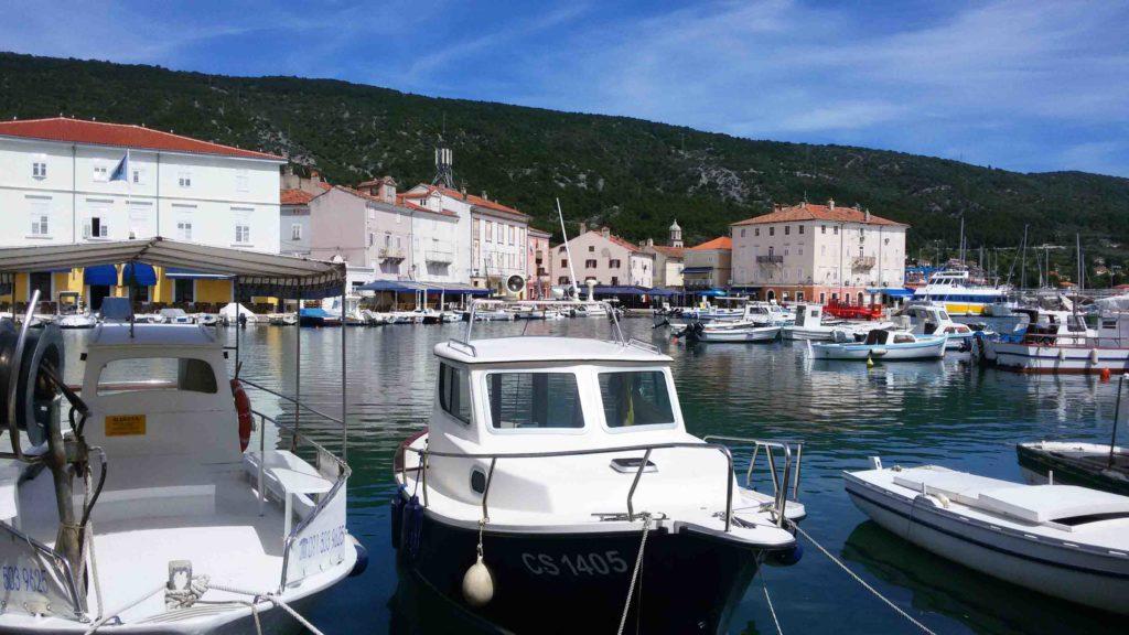 Stadt Cres auf Cres, Kroatien