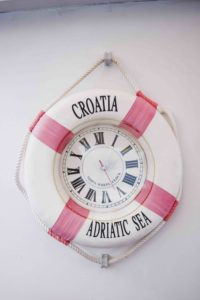 Boot fahren in Kroatien