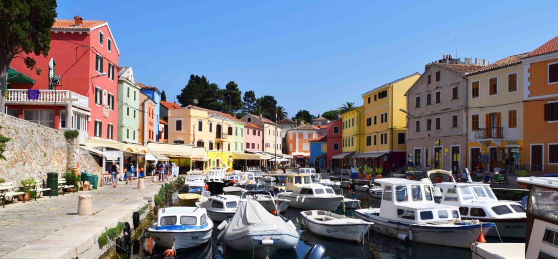 Kroatische Küste: Kvarner Bucht, Veli Losinj