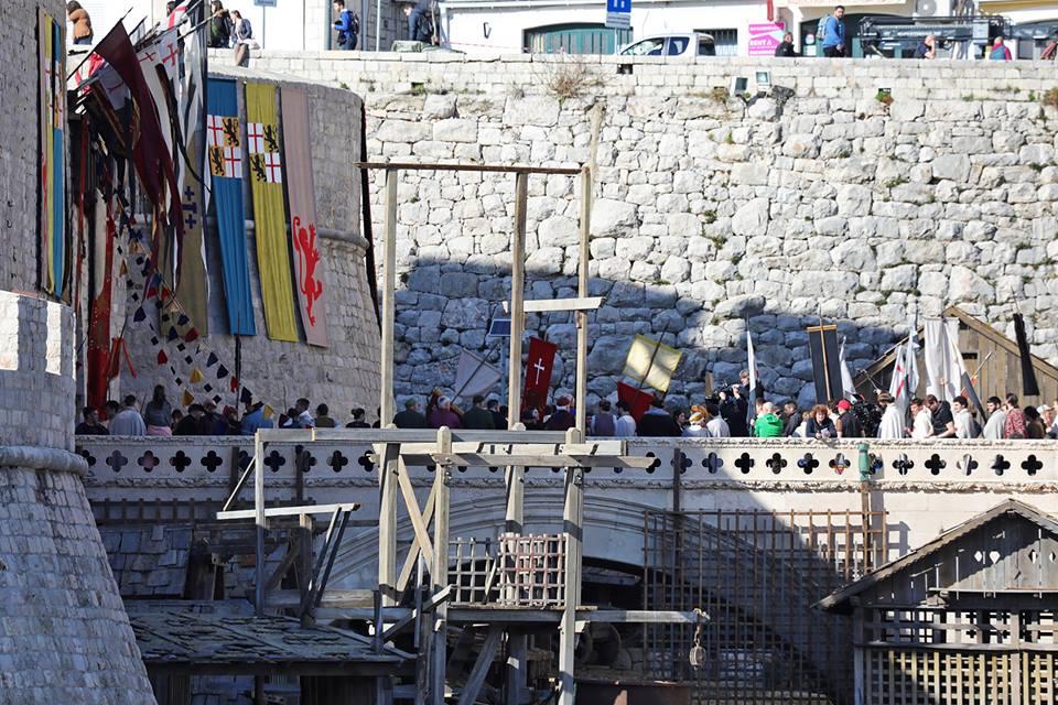 Set von Robin Hood: Origins in Dubrovnik