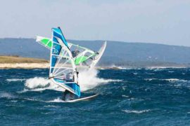 Windsurfen in Istrien