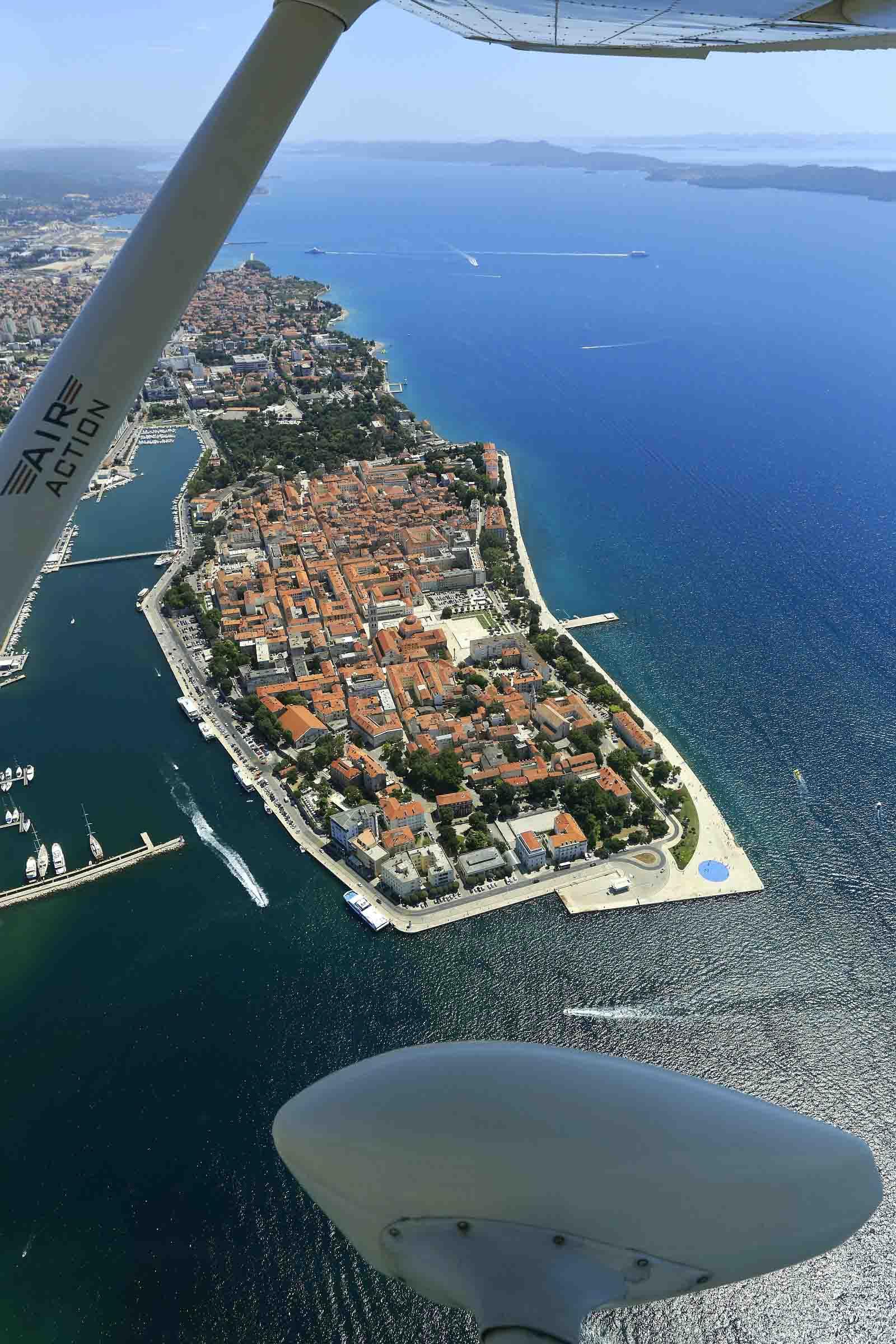 Panoramaflüge Zadar