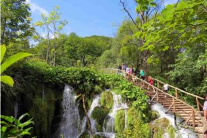 Wandern Plitvice