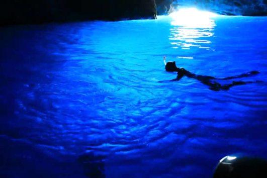 Blaue Grotte Kroatien