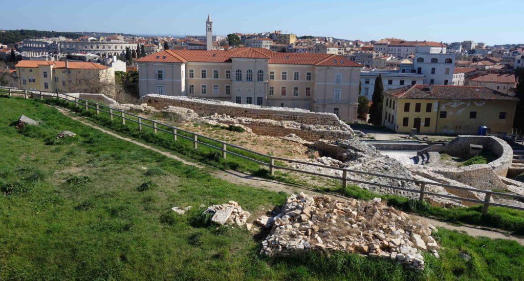 Altstadt von Pula, Istrien