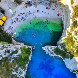 Bucht Stiniva Kroatien
