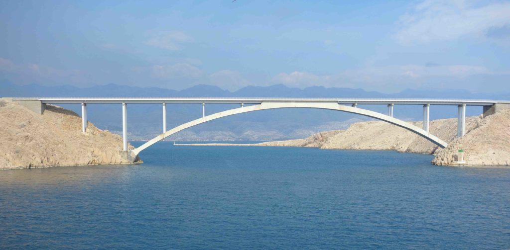 Paski most Pager Brücke Kroatien