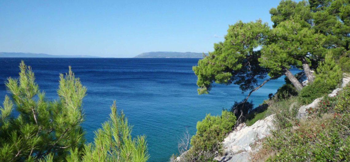 Blaue Flagge in Kroatien