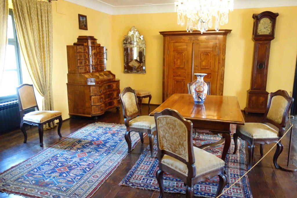 Zimmer in der Burg von Varazdin