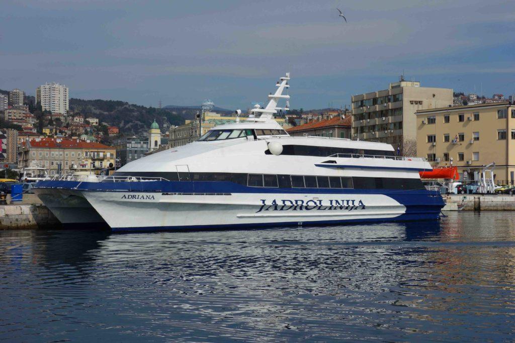 Hafen von Rijeka, Kroatien