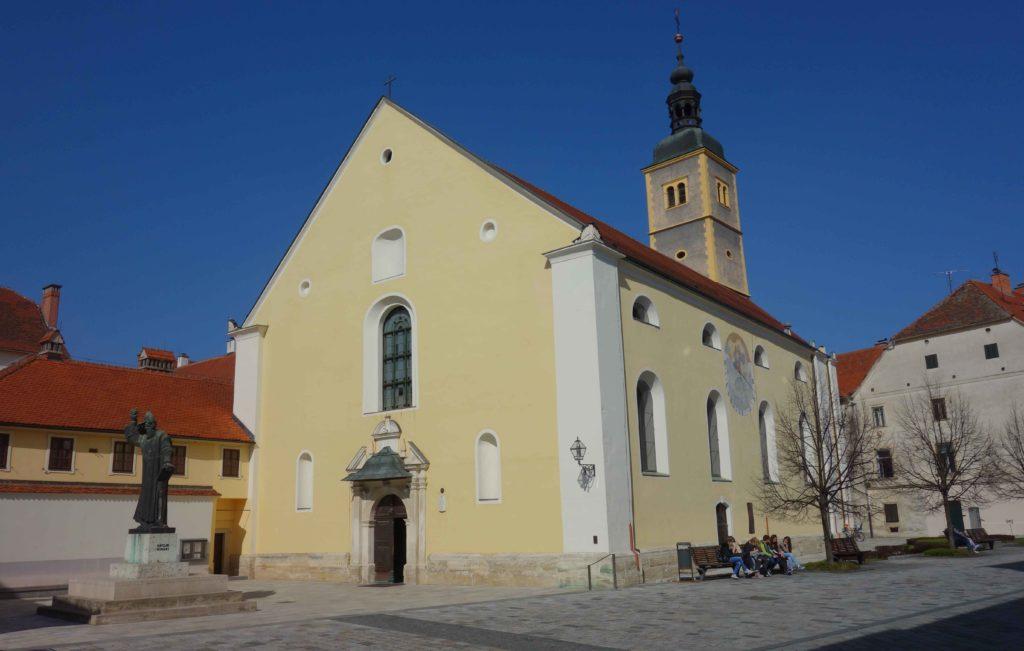 Franziskanerkirche in Varazdin