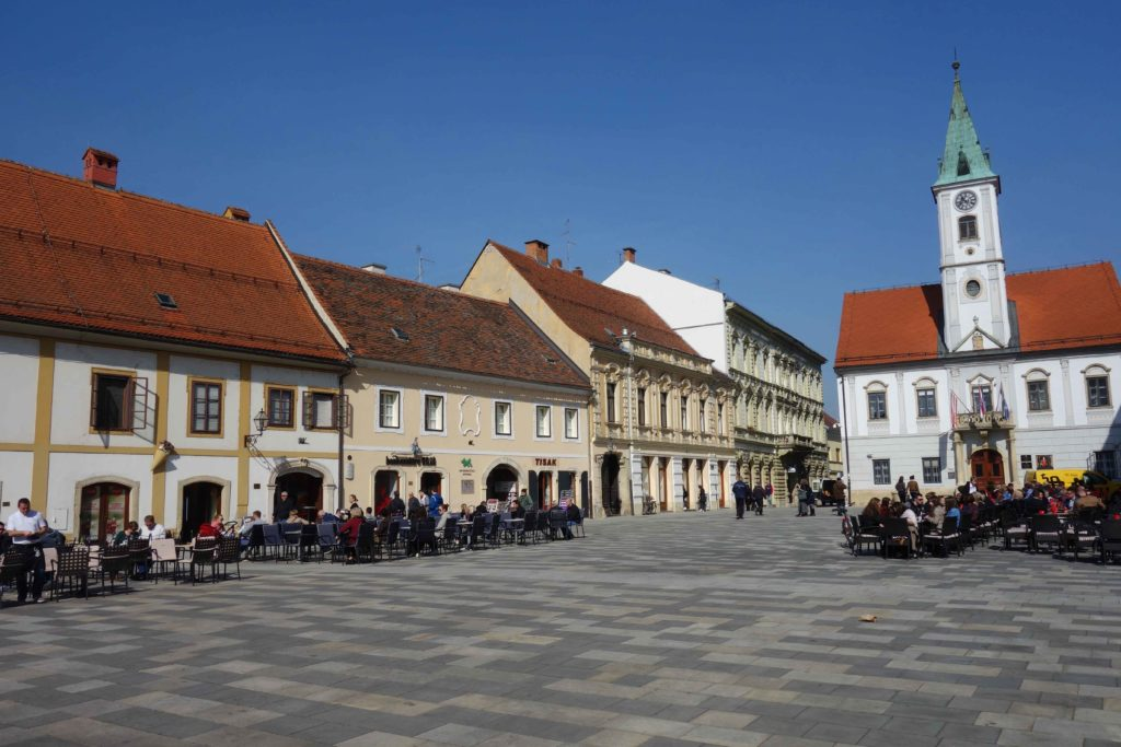 Marktplatz von Varazdin