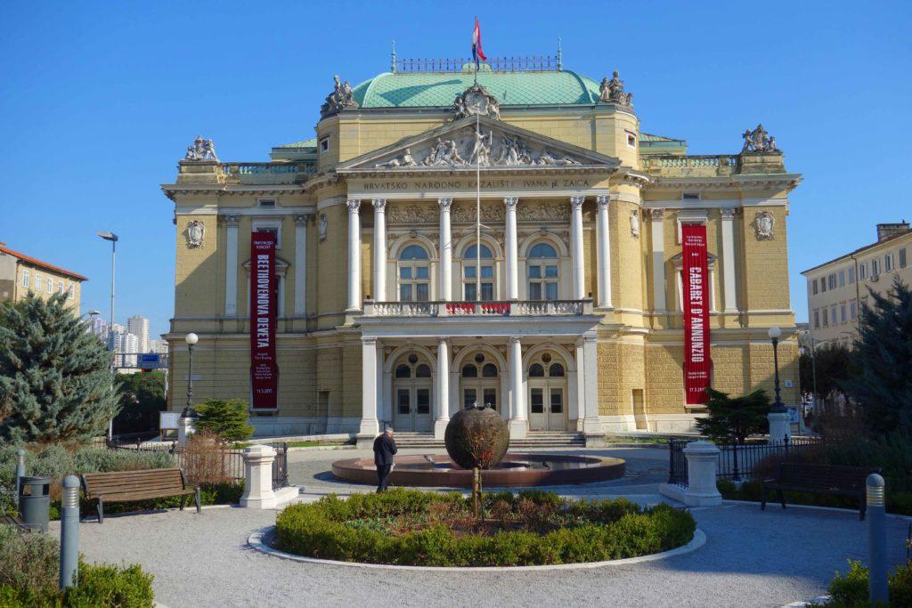 Kroatisches Nationaltheater in Rijeka