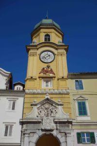 Stadtturm von Rijeka, Kroatien