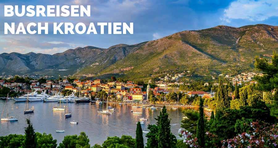 Busreisen nach Kroatien