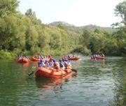 Cetina Raftingtour