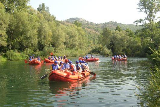 Cetina Raftingtour