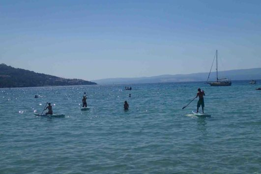 Stand Up Paddling Kroatien