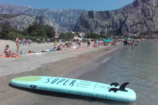 Stand Up Paddling Cetina