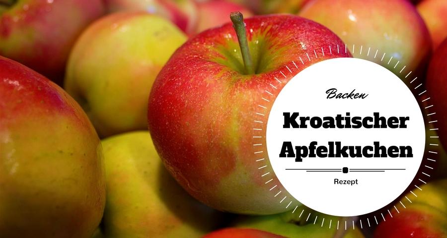 Kroatischer Apfelkuchen