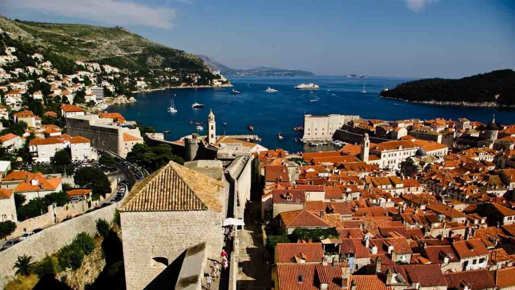 Dubrovnik Kroatien Dalmatien