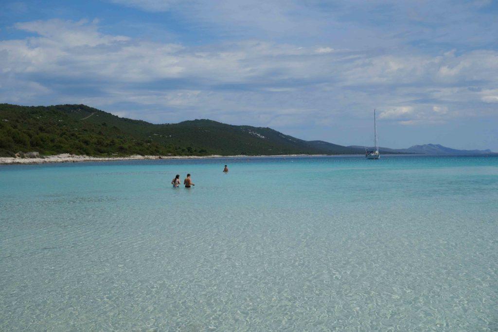 Sakarun Strand Kroatien