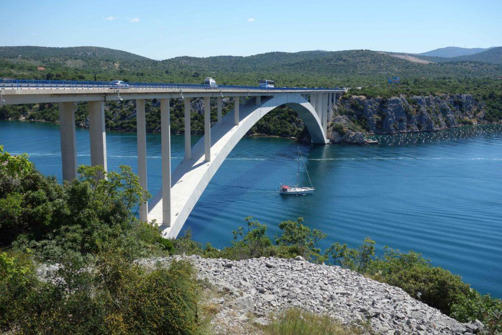 Krka Brücke Sibenik